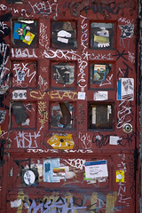 door (street stars) Tags: streetart graffiti nyc urban city ny decay les