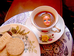 tea (mohawk) Tags: new england copyright art love home girl look fashion america liverpool ceramic photography see photo dance nice topf50 doll chaos photographer arte state puppet sweet head d kunst loser models bald barbie style s se