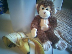 Banana Time For Button Monkey (video linked)