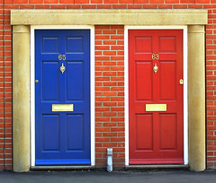 blue door and red door (Leo Reynolds) Tags: catchycolors red blue door scoutleol30 minicardphoto01 leol30random olympusc770 c770uz 0013sec f32 iso69 121mm 1ev xexplorex groupcatchycolors xcheckratiox xleol30x hpexif xx2005xx olympus