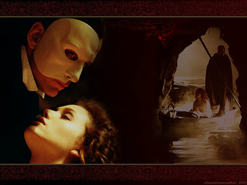 Phantom of the Opera by ElavielEvenstar.