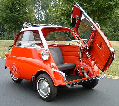 BMW Isetta bubble car