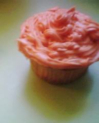 orange frosted cupcake (Rakka) Tags: orange cupcake yum