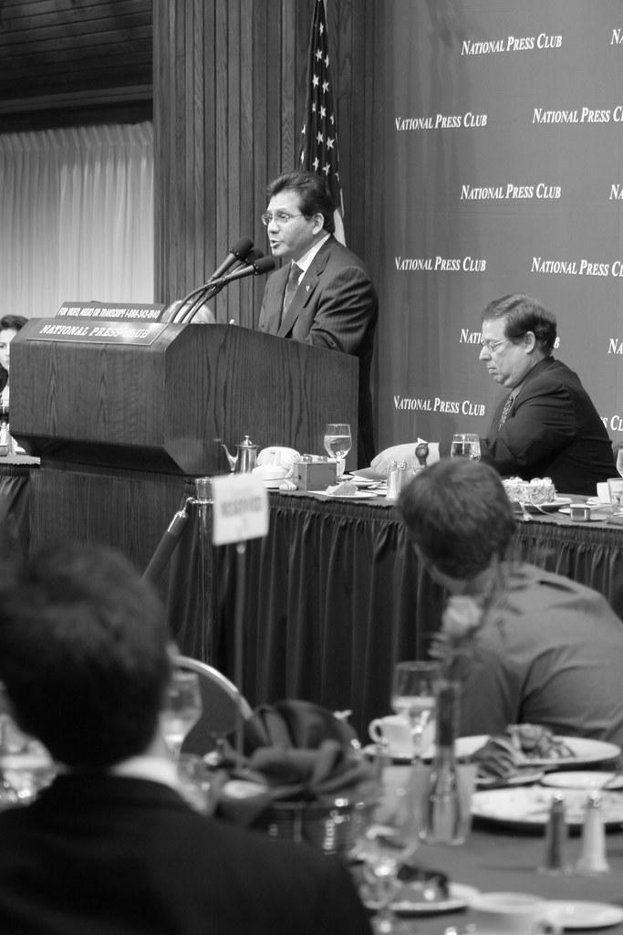 Attorney General Alberto Gonzalez at the National Press Club