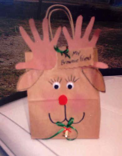 Reindeer Giftbag
