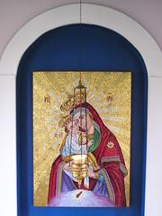 Theotokos (phool 4  XC) Tags: icons mosaic icon christian monastery seminary orthodox orthodoxchristian sttikhons theotokos بيتربروباخر phool4xc
