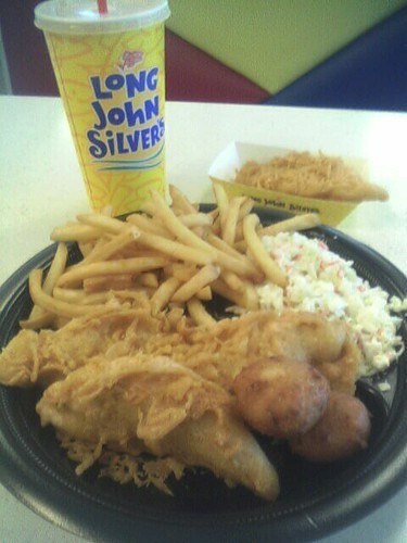Long John Silver's (also known as LJS) is a seafood fast food restaurants that's based in the United States. There are over 1, Long John Silver's restaurants worldwide.