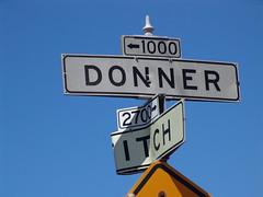 The Donner Itch (mrjoro) Tags: candlestick candlestickpoint sanfrancisco california donner itch sign starred