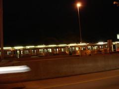 Blue line train. (Wellsie) Tags: chicago expressway kennedy 90 train cta blueline