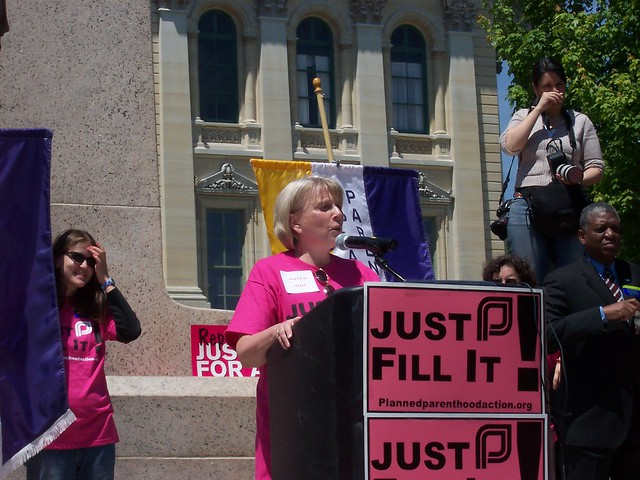 """Just Fill It!"" Rally - Springfield, Illinois"