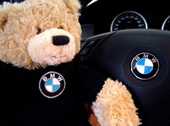 My Beemer's Cuddly Teddy Bear (PI) Tags: interestingness interesting explore teddybear bmw kuwait beemer q8 pib pi