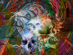 Death (Mr Bultitude) Tags: abstract art digital photoshop religious fire death gothic dream manipulation fractal pagan mrbultitude neilcarey