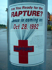 Are you ready for the Rapture? Jesus is coming on Oct 28, 1992(!) - by marcn