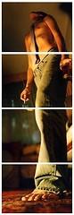 - model male man boy men cigar poser tie catchycolours simonpais jeans yellow