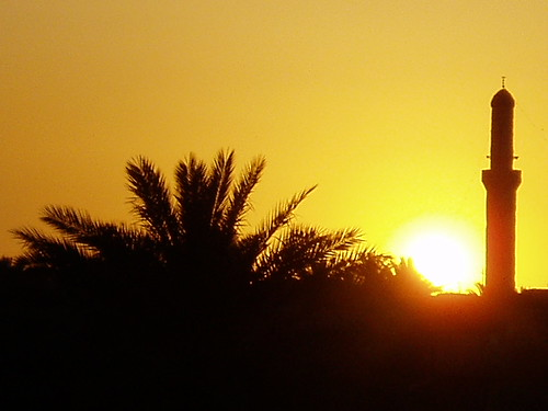 Sunset in Haditha