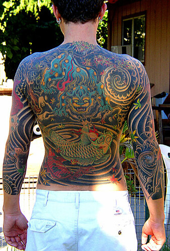 Japanese Tattoo Art. Labels: BackTattoo, Japanese Back Piece Tattoo,