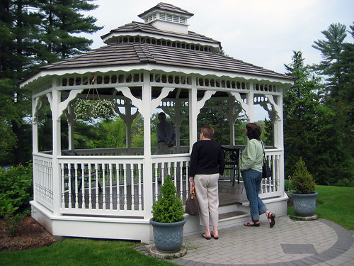 gazebo closeup