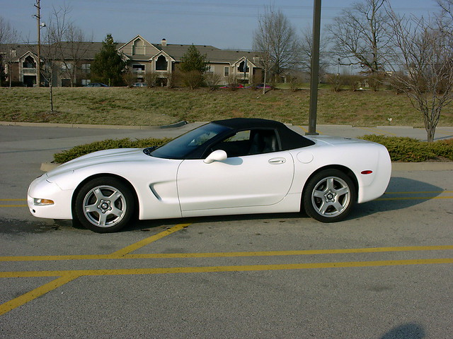 chevrolet corvette 1998 convertible
