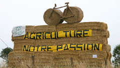 Fan Monument at Tour de France 2004