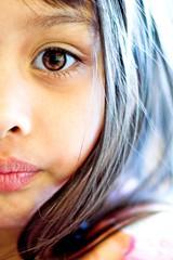 Half face (fd) Tags: daughter family portrait eye half face topf25 topv333