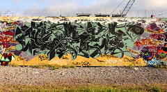 Asalt (funkandjazz) Tags: sanfrancisco graffiti california tirebeach asalt ask te gm