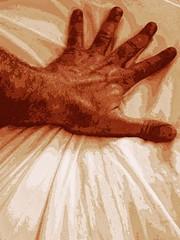 Sleepless 02 (hazevi) Tags: hand sheet pain pleasure intense
