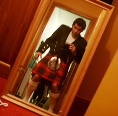 It had to be done (grass) Tags: me mirror scotland costume mirrorproject kilt slideshow selftake