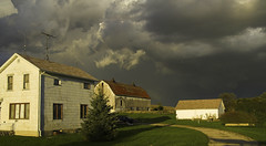 Wisconsin Thunderstorm 2 (Stephen P. Johnson) Tags: storm wisconsin rural wow farm lagrange abigfave myxplore wisconsinthunderstorms