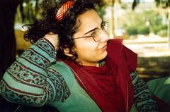 Patterns (Daudpota) Tags: pakistan red portrait woman photography karachi developingcountry southasia isadaudpota