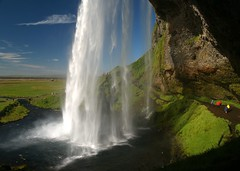 - iceland water waterfall fall color 2006 islande