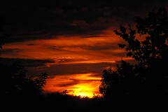 sunset #1 (gari.baldi) Tags: sunset red sky orange sun berlin yellow clouds 2006 burning glowing burningsky garibaldi pankow paperwall burningclouds kppchensee potwkkc7