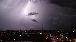 Thunderstorm over Verona