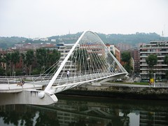 Calatrava bridge in Bilbao (Mark Demeny) Tags: architecture bilbao calatrava