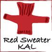 RedSweater KAL (tatsinthebelfry) Tags: buttons redsweater kal