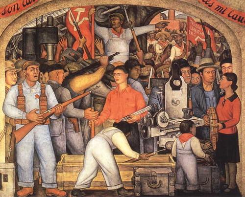 obras de diego rivera. Murais e Obras de Rivera
