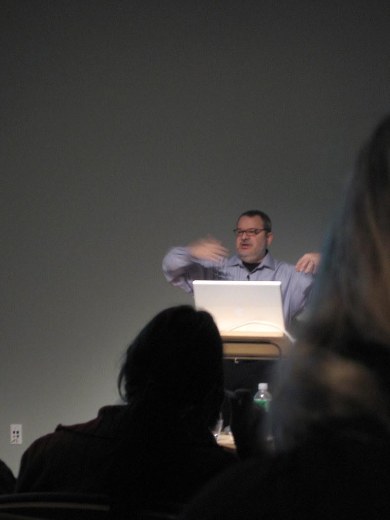 Jeffrey Zeldman talk w/ AIGA NY