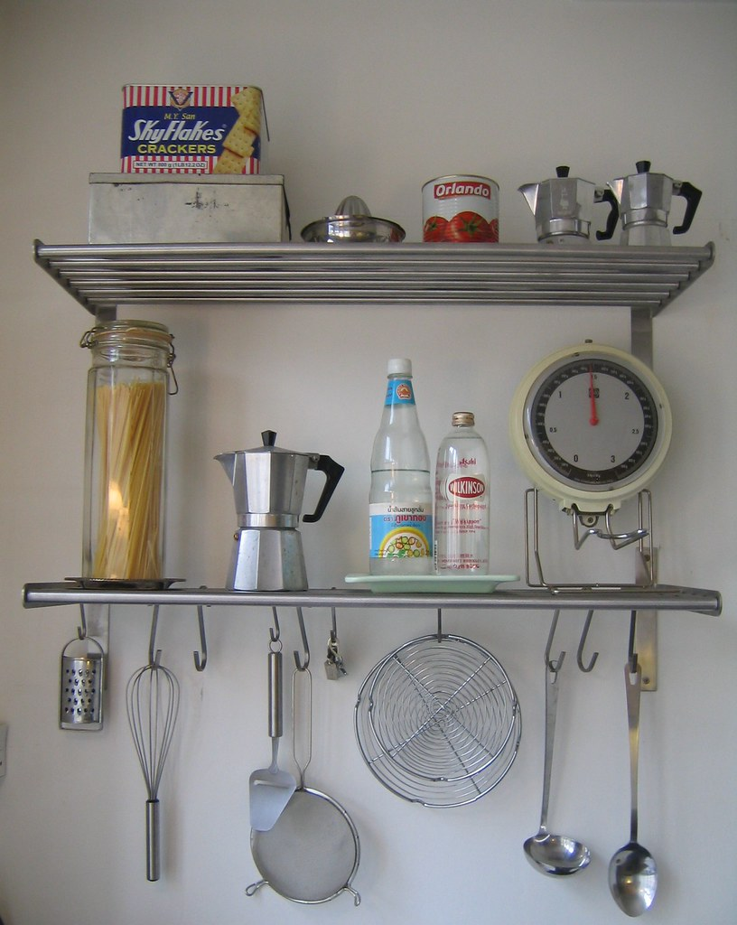 Interiors: Detail of Kitchen