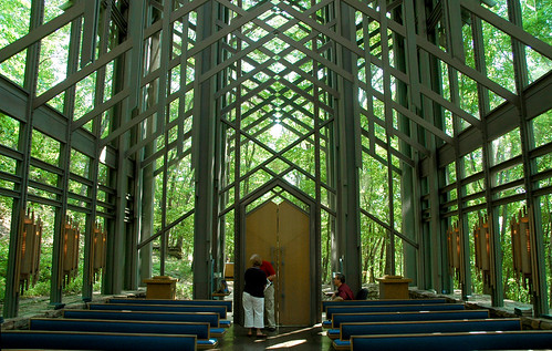 Thorncrown Chapel Interior