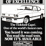 Tickford Capri Advert