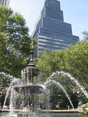 City Hall Park by kamaru, on Flickr