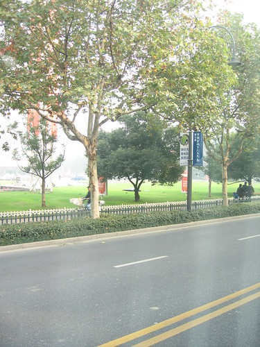 中國杭州的街道