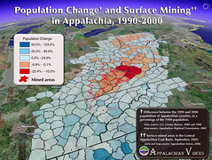 Population Change and Surface Mining in Appalachia