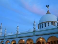 Highway Masjid at Sunset