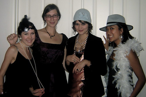 Roaring 20's Halloween Party - Colorized