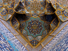 Isfahan/ Charbagh Theological Shool/ Ceiling - by HORIZON