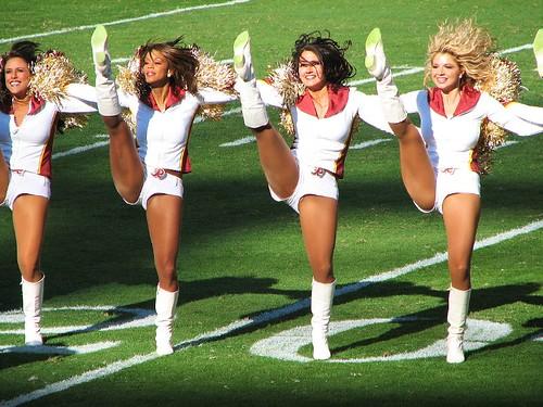 Cheerleaders Kick