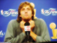 Dirk Nowitzki After Game 6 of the 2006 NBA Finals (GuitarBrother) Tags: basketball americanairlinescenter nba dirk mavs mavericks dallasmavericks dirknowitzki aac nbafinals dallasmavs nbafinals2006