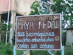 maya pedal volunteering bicimaquinas bicycle machine recycled self-sufficient and eco-sustainable technology San Andres Itzapa Chimaltenango Guatemala Central America