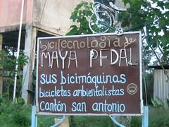 maya pedal volontariato bicimacchine biciclette riciclate tecnologia auto-sufficiente eco-sostenibile San Andres Itzapa Chimaltenango Guatemala America Centrale