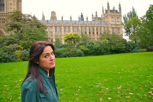 Jess at Houses of Parliament